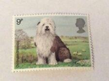 Timbres avec 9 timbres avec 9 timbres, sur chiens