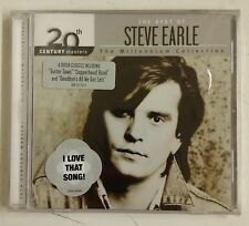 Steve Earle The Best Of-20th Century Masters-The Millenium Collection CD USA