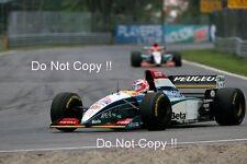 Rubens Barrichello & Eddie Irvine Jordan 195 Canadian Grand Prix 1995 Photograph
