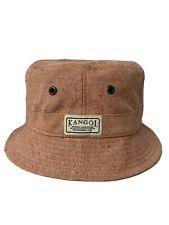 Authentic Kangol Bucket Hat Union Speck Orange Salmon Pink Peach Size Medium NEW