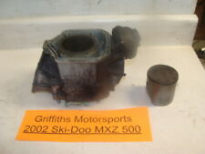 2002 SKI DOO MXZ 500 zx cylinder jug barrel piston std rings 6613600 69mm RAVE 1