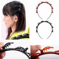 Punk Hair Styling Twist Clip Magic Accessories Headband Barrette Braid Tool. New
