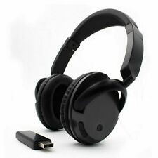 Professional Wireless Headset For Tv Pc Support Fm Function With Usb Trasmitter