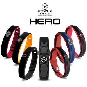 New Power Ionics Super Hero 3000ions Sports Titanium Fashion Waterproof Bracelet