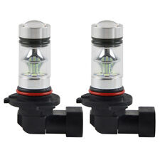 2x 9006 8000K 100W Ice Blue High Power Car LED Fog Light Driving Bulb Lamp DRL
