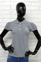 Polo SIVIGLIA Donna Size Taglia M Maglia Grigio Shirt Woman Elastica Slim Fit 2