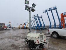 2014 Genie Rl4 S/A Towable Light Tower Generator 6kW Genset Kubota bidadoo