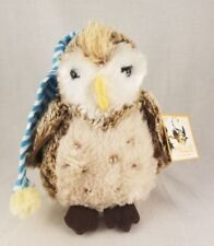 Douglas Millie The Barn Owl Plush Toy Night Cap UHCCF