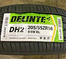 4 New 205 55 16 Delinte DH2 Tires