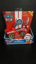 Paw Patrol Ready Race Rescue Marshall Race & Go Deluxe Vehicle with Sound New
