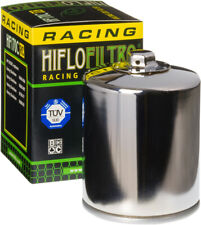 HifloFiltro Replacement Motorcycle Racing Oil Filter (Chrome) HF170CRC