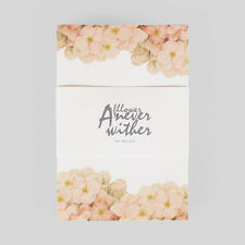 Hydrangea Letter Pad Flower Note Writing Paper Letter Gift Stationery
