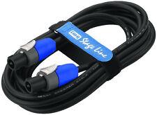 pa-kabel Speakon 2x1, 5 ² 5m 5meter IMG STAGE LINE msc-505/SW Cable de altavoz