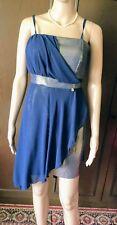 RINASCIMENTO Fantastic dress, Woman, blue-gold color, size M  Vestito fantastico