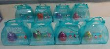 Lot/Set: 8 XIA-XIA Hermit Crab Collectible Shells w/2 Little Friends *All New!