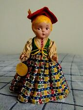 "Vintage 1920 12"" Doll ""Greta"" From Sweden-Very Rare!-Vg/Ex Condition!"