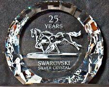 SWAROVSKI WILD HORSES DISC Paperweight 60mm 283324 MINT BOXED smobilizzato RARA