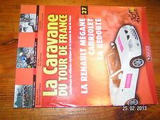 ¤ Fascicule Caravane Tour de France n°27 Mégane Redoute Virenque H.Koblet 1977