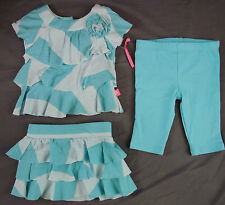 Miniville, 3 Mo. 3 Piece Set, New without Tags