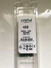 crucial 4gb ddr3l-1600 sodimm NEW Sealed