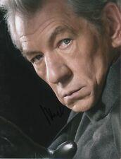 """Ian McKellen """"X-Men"""" Autogramm signed 20x27 cm Bild"""