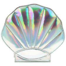 "NEW 7 LUXE Silver Hologram ""SHELL SHOCKER"" Crossbody Handbag - SALE"