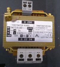 transformateur de sécurité 220v / 22/24v 120VA 5A