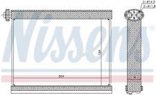 NISSENS 92317 Verdampfer, Klimaanlage für MITSUBISHI