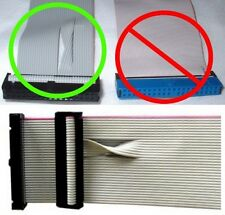"""short 3.5""""FD/Floppy Single/1 device/drive Flat Ribbon Cable/Strap/Wire <1ft <12"""""""