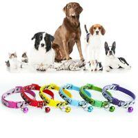 5/6pc Adjustable Pet Bow Tie With Bell Necktie Collar For Cat Kitten Puppy Dog