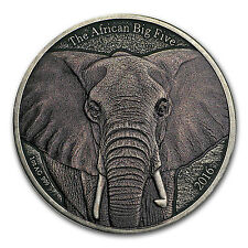 2016 Burkina Faso 1 oz Silver African Big Five (African Elephant) - SKU #132471