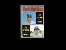 1970 Topps 131 Rookie Stars Ray Lamb/Bob Stinson RC VG-EX #D633697