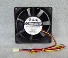 "Sanyo Denki Mini Ace 92mm x 32mm Quiet High Airflow Fan 3 Pin 18"" Long Wires"