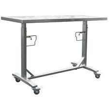 Stainless Steel Adjustable Height Work Table