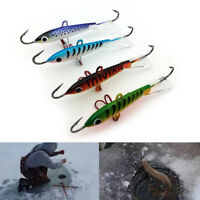 1pcs 18g 83mm Spoon Metal Lures Ice Fishing Lures Brand Hard Bait Fresh Water MO