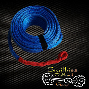 UMWPE 9000KG 30m x 10mm Blue Synthetic Winch Rope