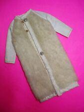 Vtg Barbie FRANCIE 70s Mod Doll Clothes FROSTY FUR Maxi COAT 1970 3455