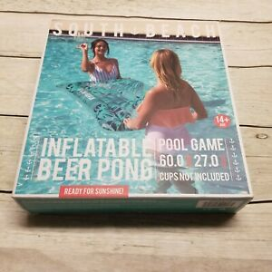 """South Beach Inflatable Beer Pong 60"""" x 27"""""""