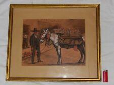 1931 ROBERT DELETANG 1874 -1951 PEINTRE ILLUSTRATEUR SCENES BASQUES ESPAGNOLESS