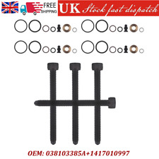 PD Injector Seal Kit & Clamp Bolts x4 For 1.9 / 2.0 TDi VW Audi Skoda SEAT