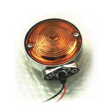 1 clignotant clignoteur moto chrom harley vintage turn signal markerlightbar FLH