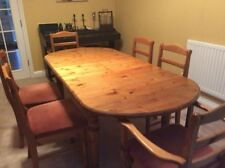Pine Ducal Oval Table & Chair Sets