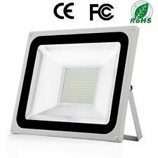 100W Projecteur LED Extérieure Imperméable IP65 Spot à LED Extérieur 10000LM Bla