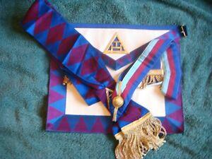 Royal Arch Provincial /  District / LGCR Apron, Sash & Collar
