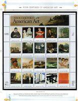 us scott # 3236 32c xf mnhog sheet of (20) stamps American Art 1998 commemorativ