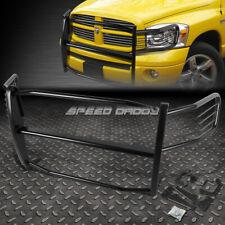 FOR 06-08 RAM 1500-3500 MEGA CAB BLACK COATED MILD STEEL FRONT GRILL FRAME GUARD