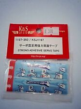 K&S Strong Adhesive Servo Tape KSJ1197, high quality 3M