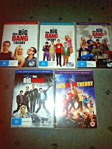 BIG BANG THEORY Season 1-5 DVD