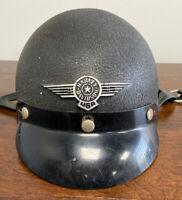 Harley Davidson Sportsman III Black Half Helmet Extra Large