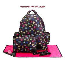 Designer Backpack Baby Diaper Bag CiPu Eco 9 Pieces Combo Set Rock Star